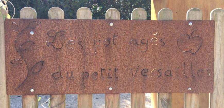Guérande - Les pot'agés du petit Versailles